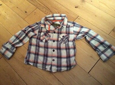 Boys Ted Baker Shirt 12-18 Months