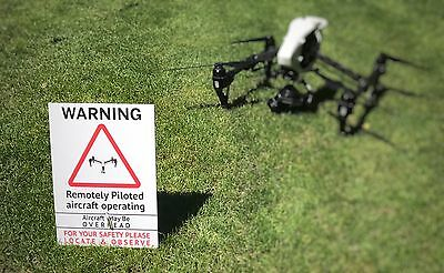 Drone Sign Inspire1 Or Phantom 4 Ideal For CAA Operators