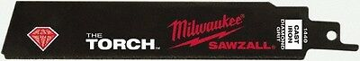 "Milwaukee Tool 6"" Long x 0.042"" Thick, Steel Reciprocating Saw Blade Continuo..."