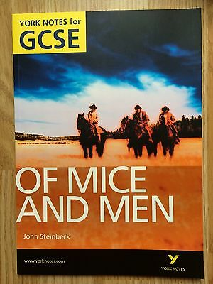 Of Mice and Men: York Notes for GCSE, Stephen, Dr Martin Paperback Book The