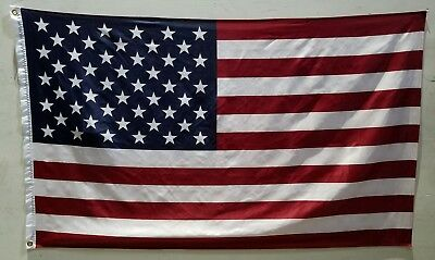 3' X 5' Ft American Flag Brass Grommets Usa Stars And Stripes