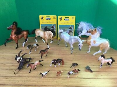Huge Lot Breyer Model Horse Schleich Payo Stablemates Custom Play