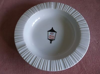 vintage Esso Motor Hotel ashtray, Rosethal, Germany, mint, truck stop,