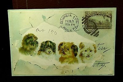 1890s Woolson Spice Co. Lion Coffee Advertising Trade Card
