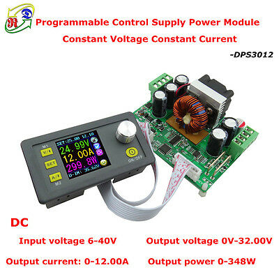 DPS3012 32V 12A Buck Adjustable DC Constant Voltage Power Supply Module Integrat