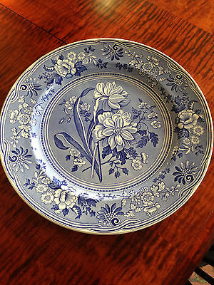 Spode -- Blue Room Collection --''botanical'' --6 Dinner Plates