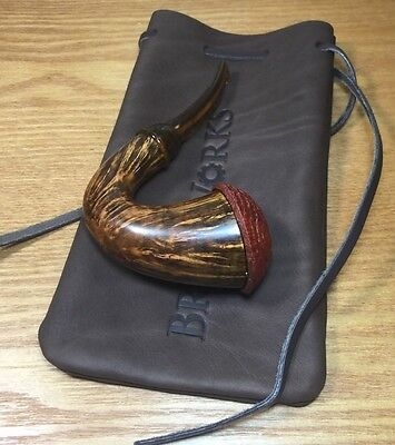 New! Unsmoked Briar Works Todd Johnson Signature Calabash Pipe  Made In U.S.A