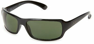 Ray-Ban RB4075 601/58 Black Frame Polarized Green 61mm Lens Sunglasses