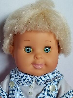 Betsy Wetsy doll, 17 inch doll, vinyl doll, drink and wet doll, all vinyl doll.