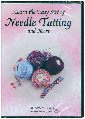 Learn The Easy Art Of Needle Tatting DVD  DVD1ON