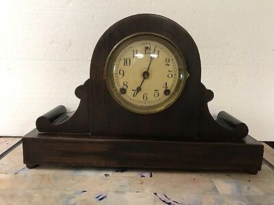Vintage Sessions Eight Day Cathedral Gong Manuel Clock