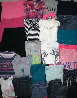 Huge Girls Clothes Lot...size 7 and 8...NICE...Back To School!!