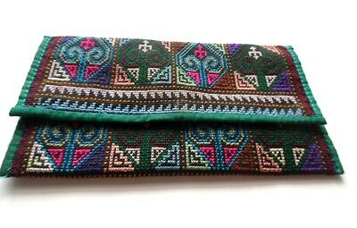 Tapestry Check Book Register Wallet Coupon Holder Handmade