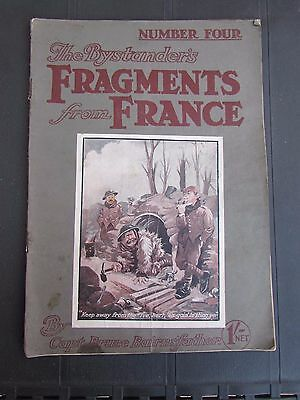 WW1 Original The Bystander's Fragments From France No 4 Bruce Bairnsfather