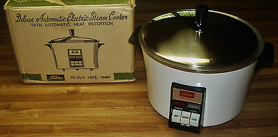 Vintage Toshiba RC-6LH Deluxe Steam/Rice Cooker With Heat Retention/NEW IN BOX