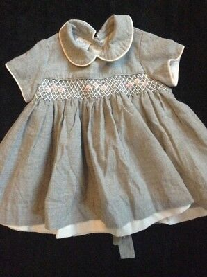 Stunning Girls Pretty Originals Smocked Dress, Age 6 Months, Romany