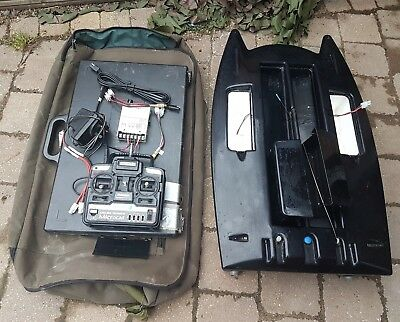 Angling Technics Microcat Bait Boat And Extras