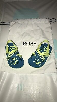Baby Boys Hugo Boss Sandals Shoes 3/6 Months