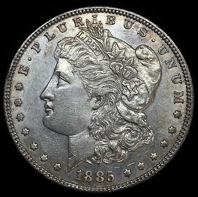 1885 $1 Morgan Dollar 90% Silver Coin #802
