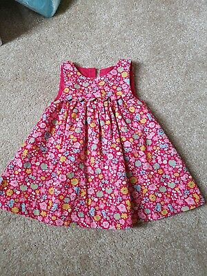 Two beautiful baby dresses 3-6 months John Lewis and Next