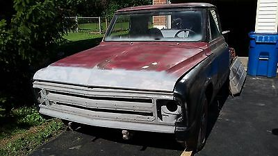 1967 Chevrolet C-10  1967 Chevy Truck First year for this body very rare rear window