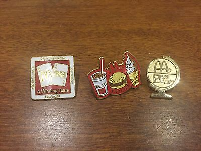 McDonalds Owners Pins