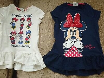 Minnie Mouse tops 12-18 months