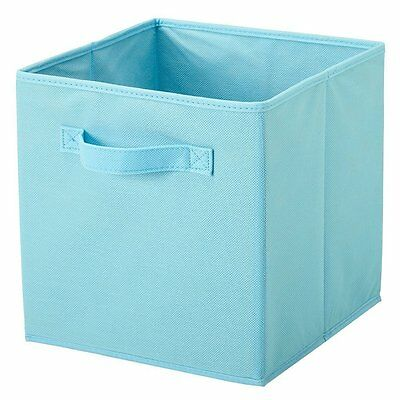 6PK Folding Fabric Storage Bins Closet Organizer Kids Toy Cube Magazine Basket