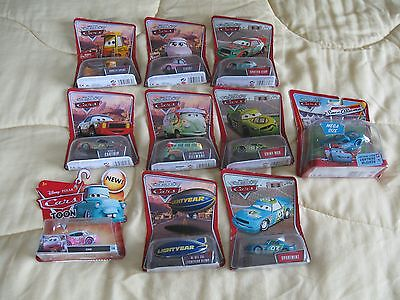Lot of 10 New In Package Mattel Disney Pixar Toys