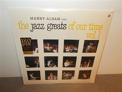 * Manny Albam . Jazz Greats Of Our Time Vol. 1 .180 Gr. New Sealed . Jazz . LP
