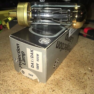 GE General Electric Type DAT DAK Projection Projector Lamp Bulb 400W 120V