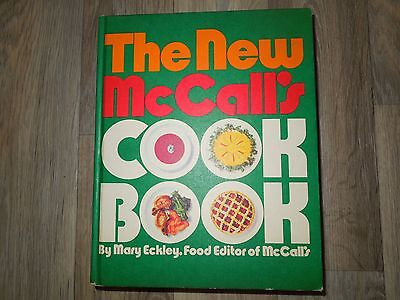 The New McCall's Cookbook by Mary Eckley (1973, Hardcover)