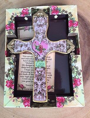 *NEW* Decorative Wall Cross With heart, decorative cross