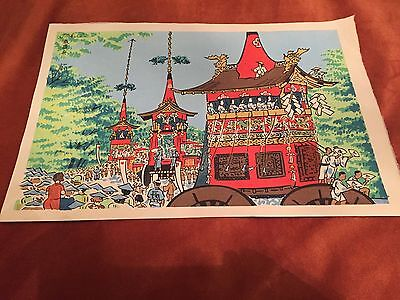 TOMIKICHIRO TOKURIKI Woodblock prints - 4 in total and all signed