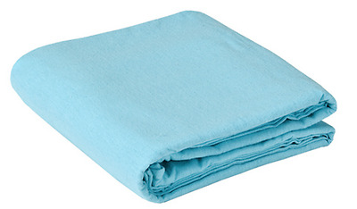 Massage Sheet Set - 100% Cotton Flannel - Blue