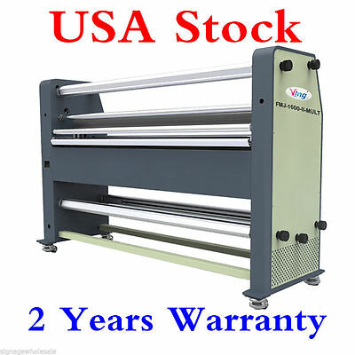 """US Stock- BEST 110V 63"""" New Type Full - auto Wide Format Hot / Cold Laminator"""