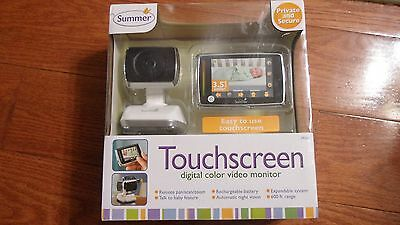 Summer Infant Wireless Touchscreen Digital Color Baby Video Monitor 29240