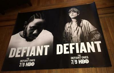 HBO THE DEFIANT ONES Patti Smith Kendrick Lamar 5FT SUBWAY POSTER (READ)