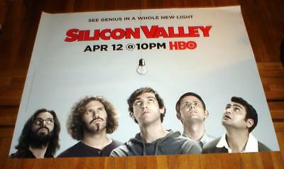 HBO Silicon Valley 5FT subway POSTER NEW 2015 Thomas Middleditch T.J. Miller