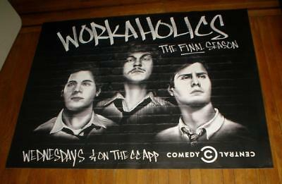 Workaholics 5Ft Subway Poster Comedy Central The Final Season 2017