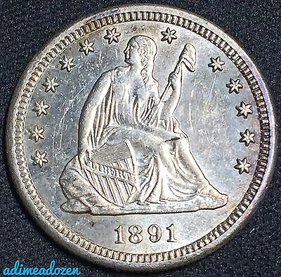 1891-S 25C Liberty Seated Quarter GM14603
