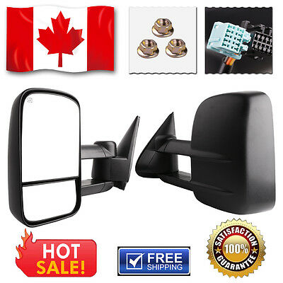 03-07 Heated Towing Power Heated Mirrors for Chevy Silverado GMC Sierra Truck