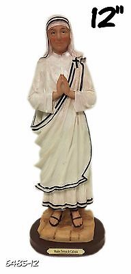 "12"" Mother Teresa of Calcutta Saint Santa Madre Teresa Statue Figurine Figure"