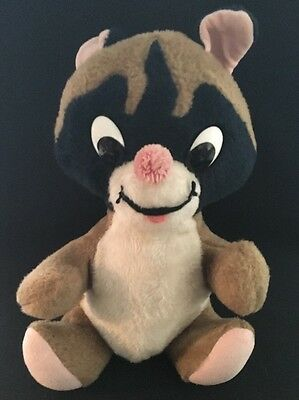 Vintage Knickerbocker Toys Raccoon Stuffed Animal Animals Of Distinction 12""