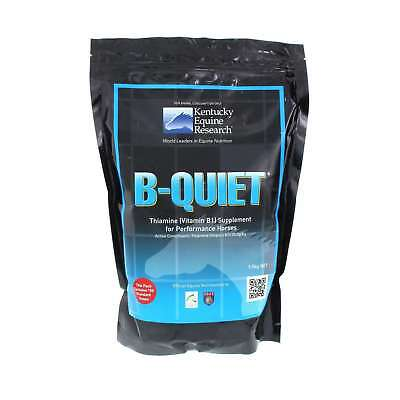 B Quiet Thiamine (Vitamin B1) Supplement for Performance Horses Equine 1.5kg