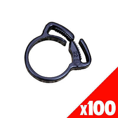 RATCHET CLAMP 19mm Low Density Fittings Garden Water Irrigation 44315 BAG of 100