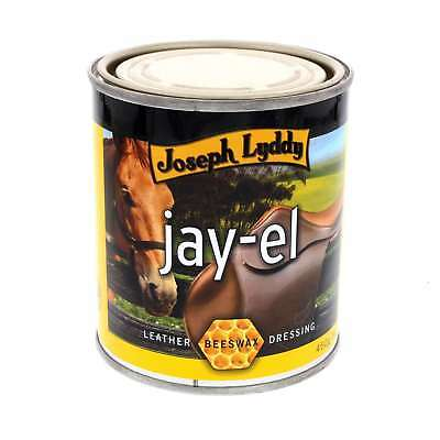 Jay El Beeswax Leather Dressing Joseph Lyddy Horse Equine 450g