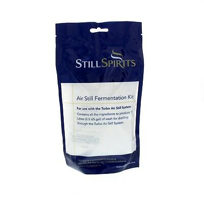 Air Still Fermentation Kit Still Spirits Home Brew Value Bulk Pack Produces 10L