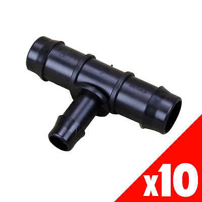 TEE Reducing 19mm x 13mm Low Density Fittings Garden Irrigation 45105 BAG of 10
