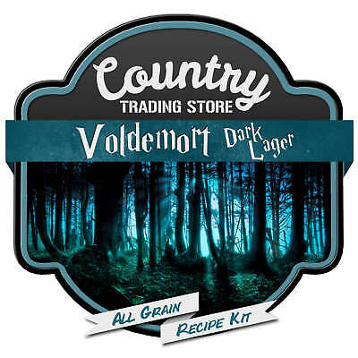 Voldemort Dark Lager All Grain Recipe Kit Suits Grainfather Home Brew